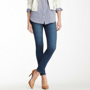 J Brand Mid Rise Skinny Jeans in Connected